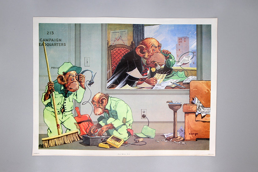Colorful Lithographs on Paper