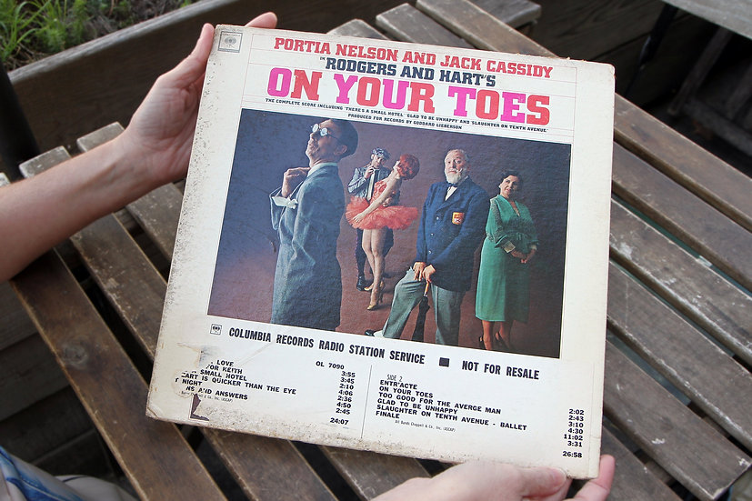 On Your Toes with Portia Nelson And Jack Cassidy A Musical by Rodgers And Hart