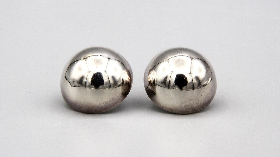 Geometric Half Sphere Earrings