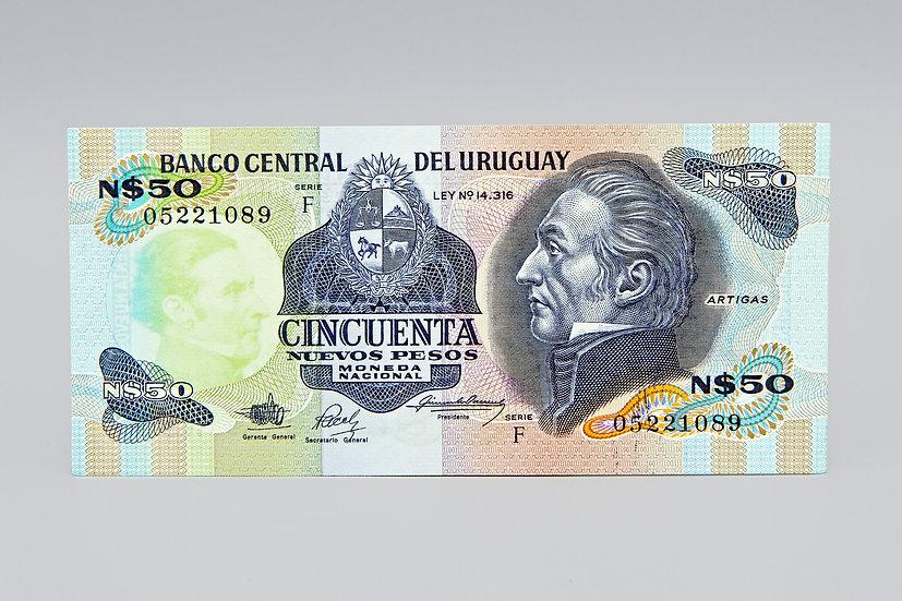 50 Nuevos Pesos Uruguay