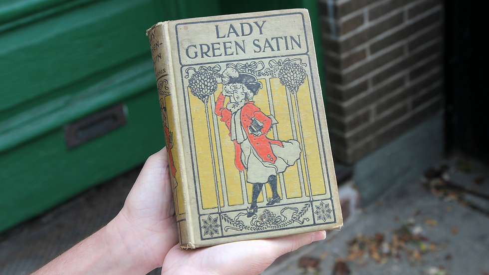 Lady Green Satin and Her Maid Rosette by Baroness Elizabeth Martineau des Chesnez