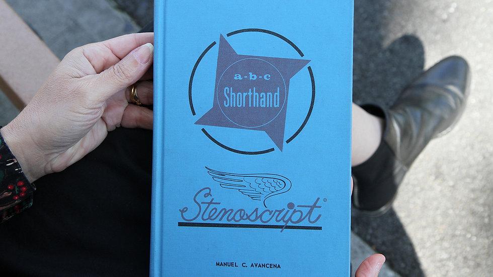 A B C Shorthand Stenoscript By Manuel C Avancena Edition 1967 Book