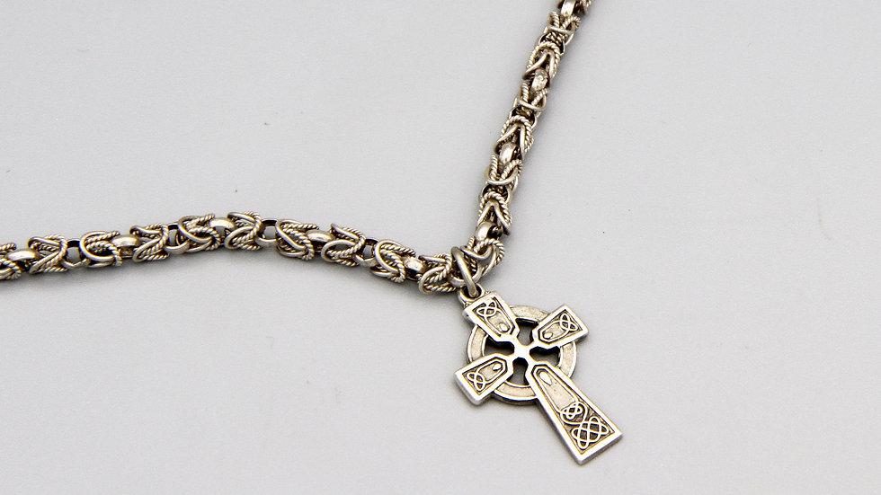 Celtic Sun Cross necklace
