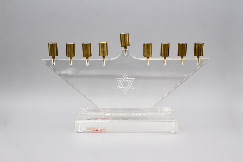 Small Plexiglass Candle Holder
