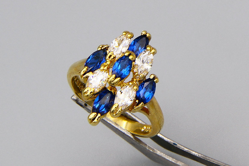14K HGE Gold Plated Ring