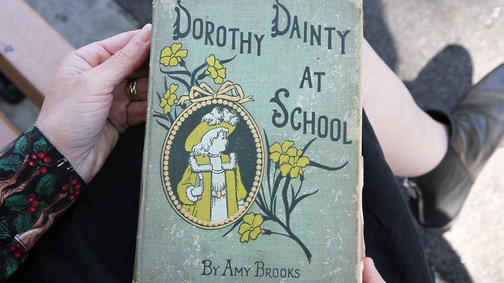 Dorothy Dainty At School By Amy Brooks With Illustrations