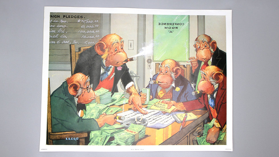 Monkey Business Caricature