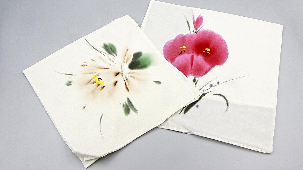 Asian Style Silk Handkerchiefs