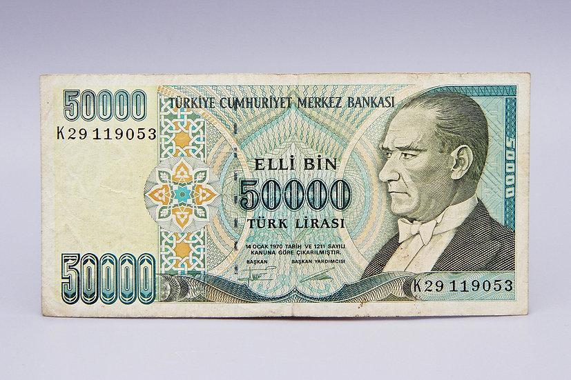 50000 Turk Lirasi