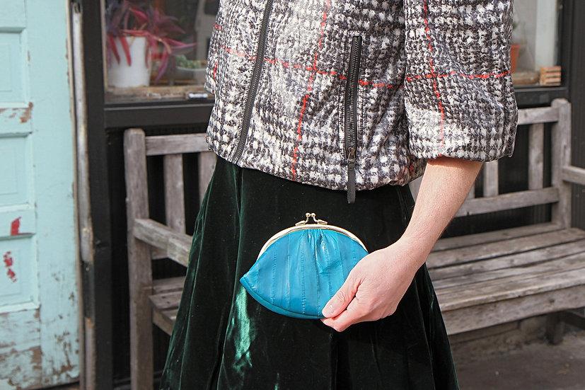 eel skin coin purse