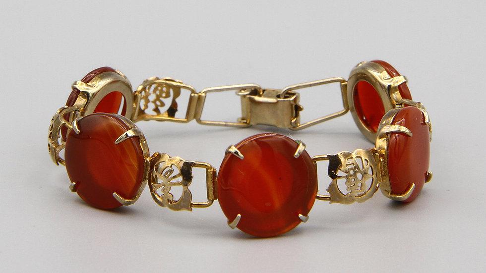 vintage 40s chinese bracelet