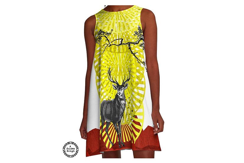 custom made artsy dress