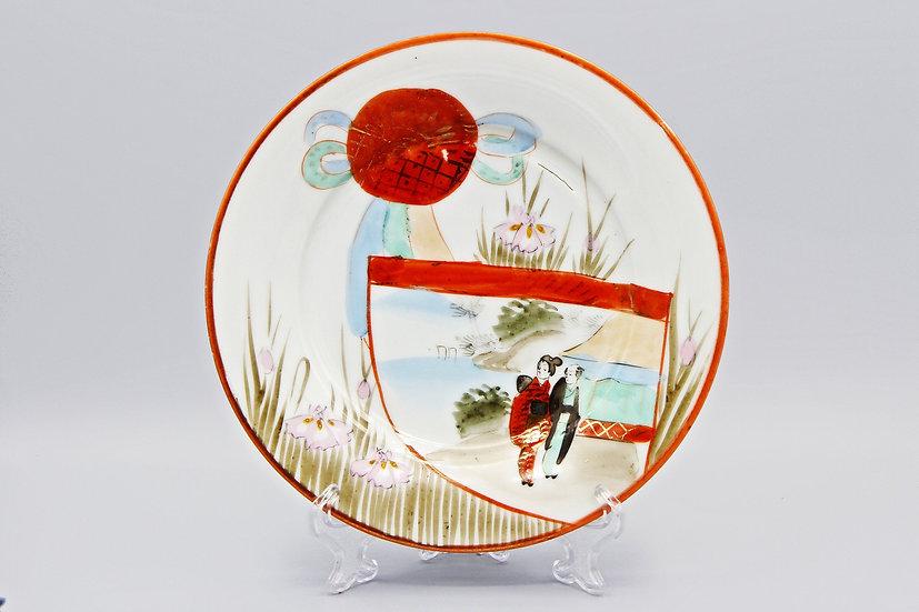 japan kutani plate