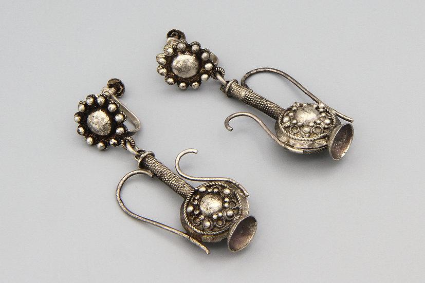 dallah teapot earrings