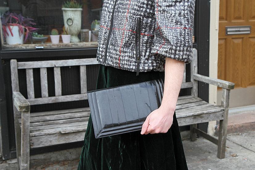 Luxurious Eel Skin Handbag