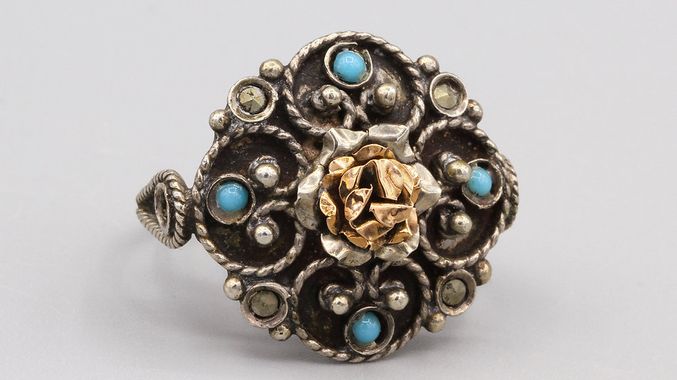 Victorian revival ring size 7