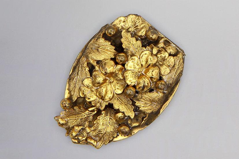 vintage gold clip