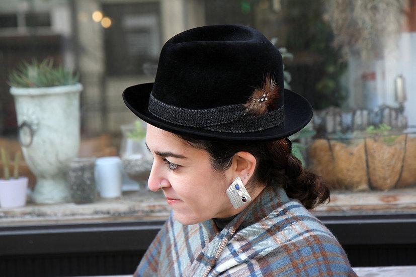 Vintage Dobbs New York Fifth Avenue Fedora Hat