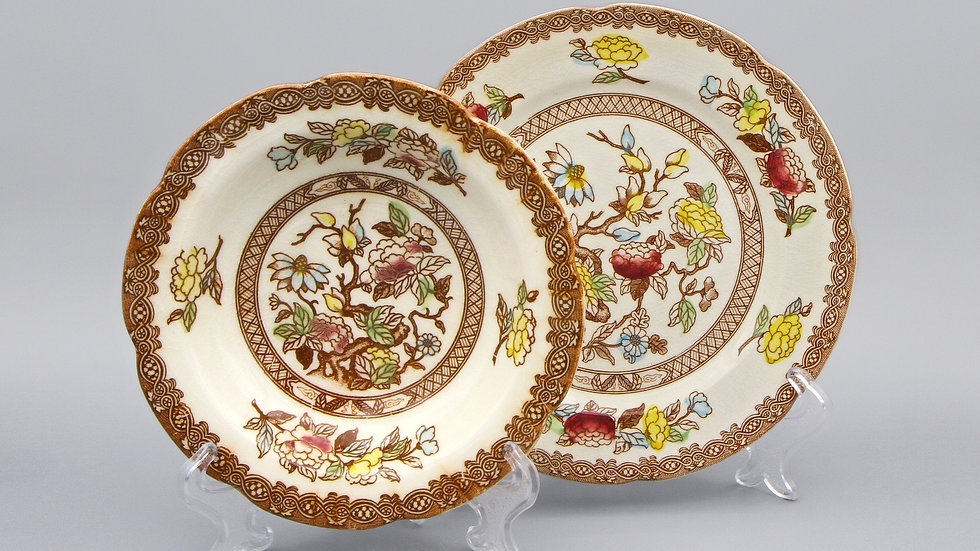 Indian Tree Porcelain Plates