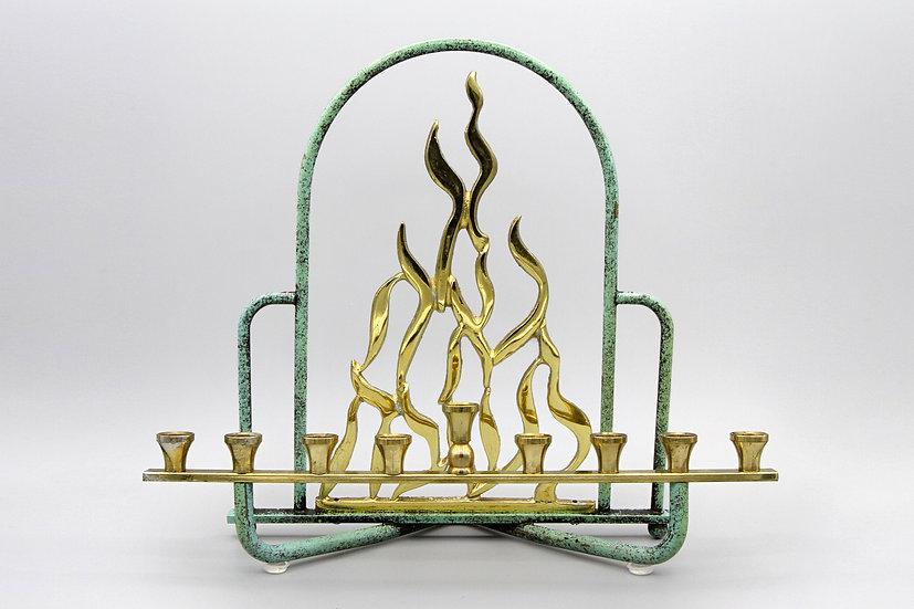 MCM Menorah Flame by Yehiel Hadany Israel