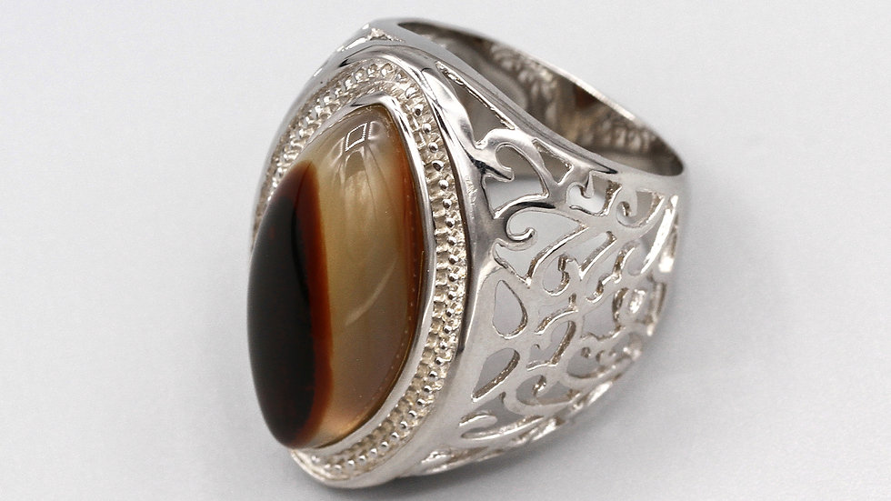 Scroll Design Filigree ring