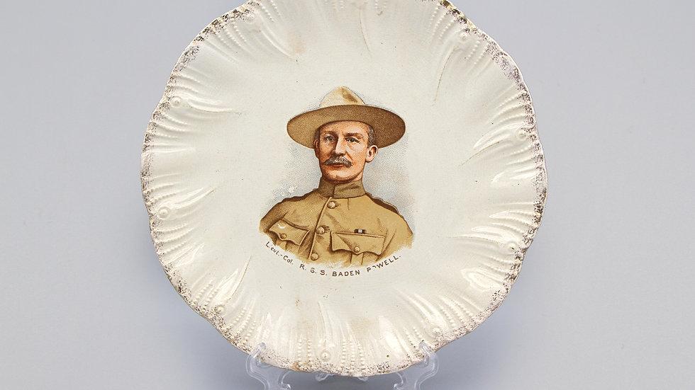 Boy Scouts Antique 1890s Decorative Plate