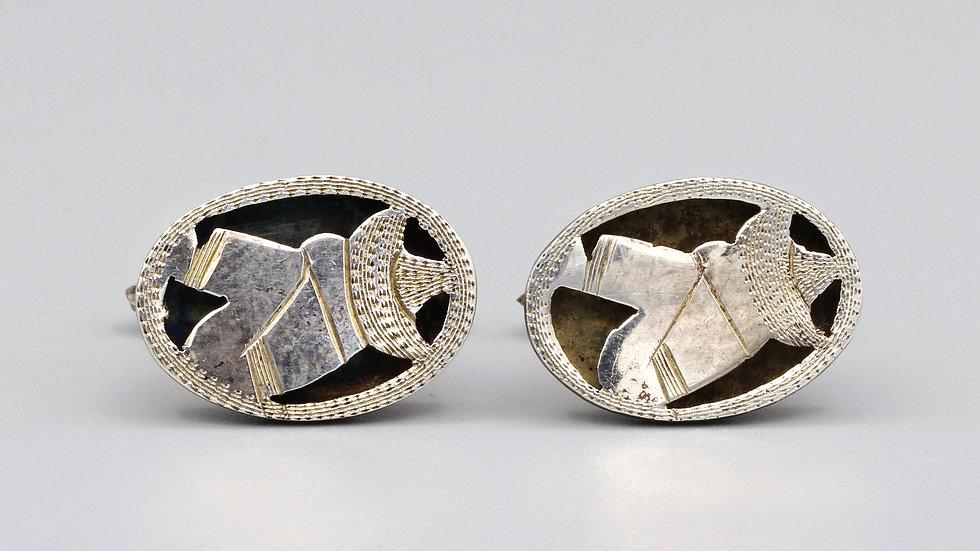southwestern cufflinks