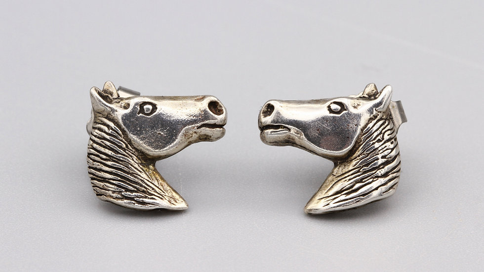 horse pony animal earrings
