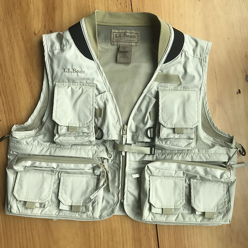 L.L.Bean Fishing Vest