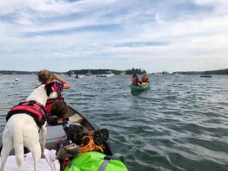 Canoe Camp at Warren Island State Park - Epic Adventure - Isleboro