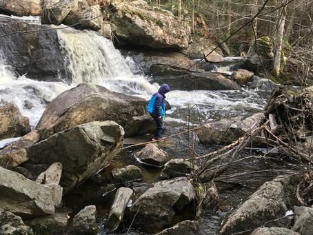 Hike Big Falls Preserve - Mini Adventure - New Gloucester