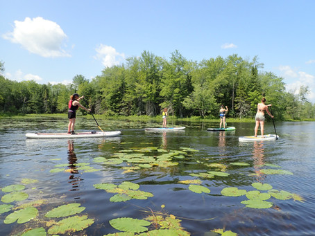 Paddle Runaround Pond - Big Adventure - Durham