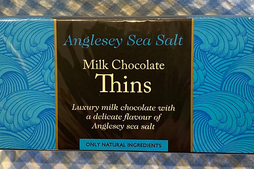 Beech's Anglesey Sea Salt Milk Chocolate Thins