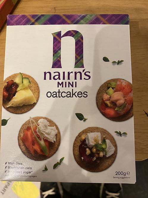 Mini oat cakes