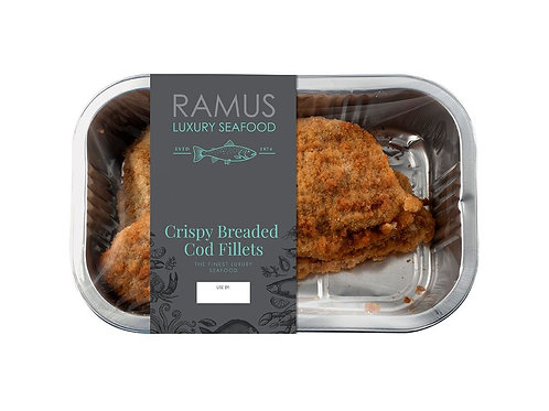 Crispy Breaded Cod fillets