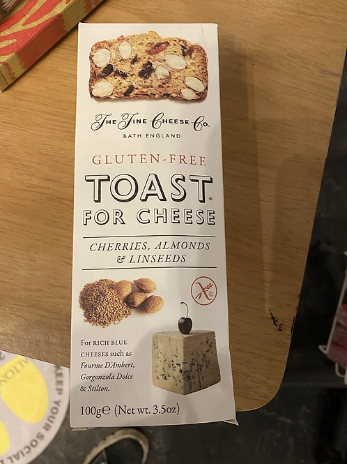 Toast for Cheese - Gluten Free