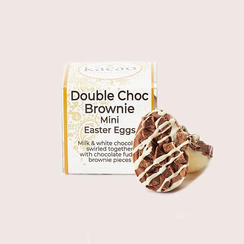 Double Chocolate Brownie Mini Easter Eggs