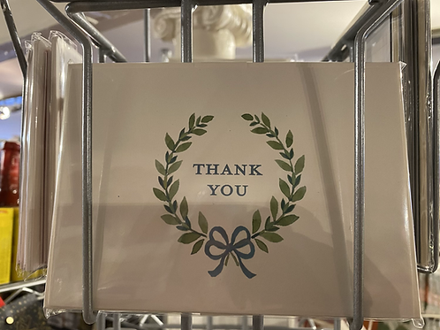 Thank you cards, 8 pack