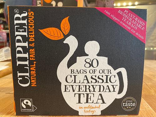 Clipper, Fairtrade Everyday Tea, 80's