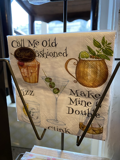 Call me old Fasioned Napkin - Cocktail