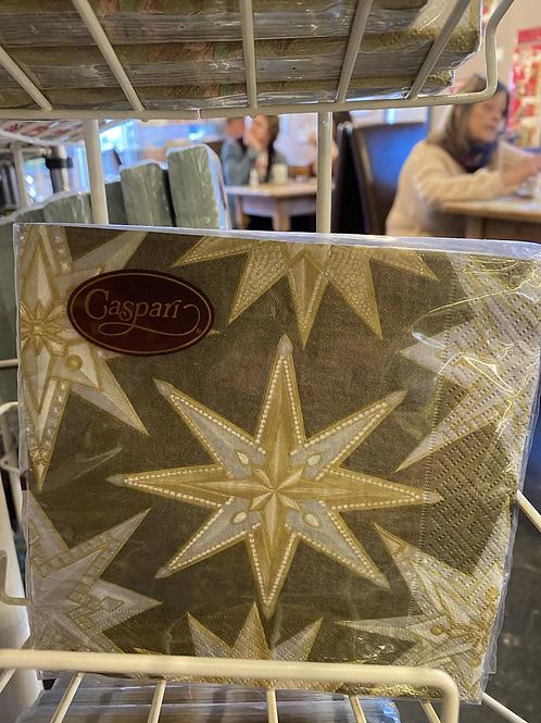 Golden Star napkin, luncheon size