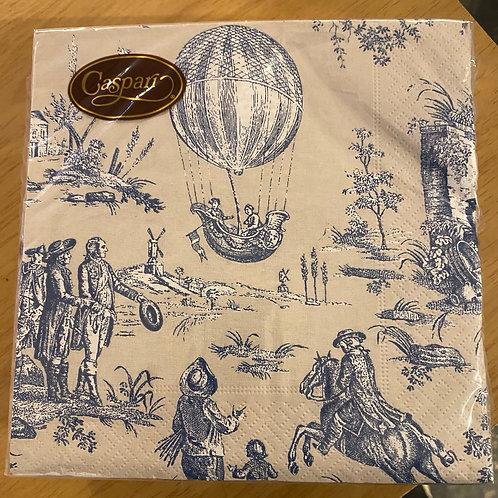 Luncheon Napkins - Hot Air Ballon