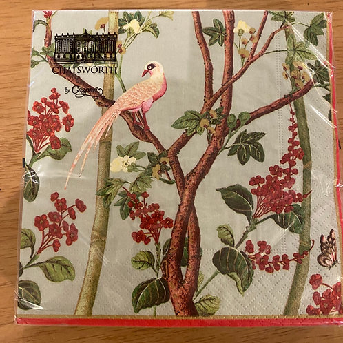 Luncheon Napkins - Chatsworth Birds