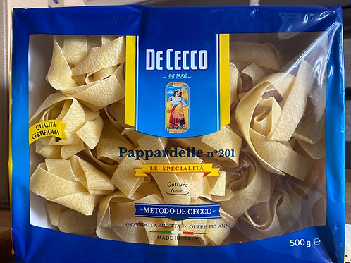 De Cecco, Pappardelle Pasta