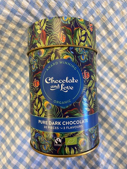 Chocolate and Love Pure Dark Chocolates