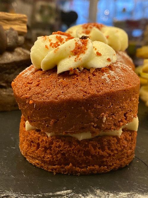 Individual Red velvet cake