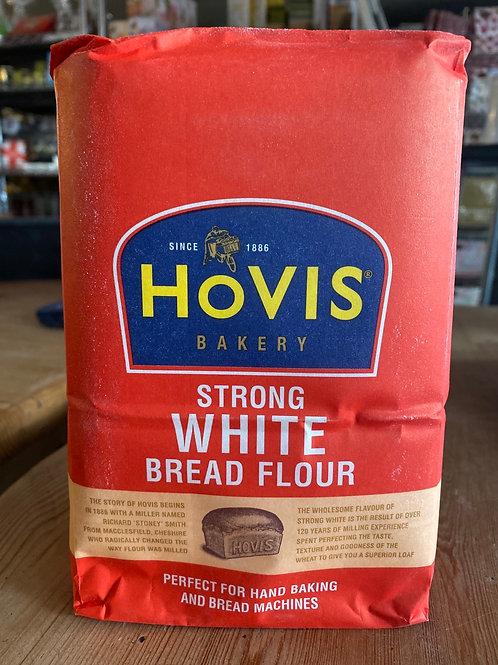 Hovis White Bread Flour, 1.5kg
