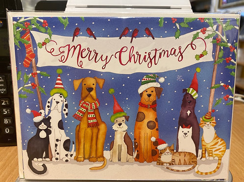 Christmas cards, 5 pack
