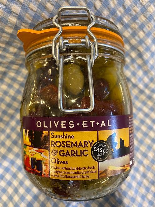 Olives Et Al Rosemary and Garlic Olives 800g