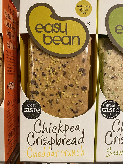 Easy Bean Crackers - Cheddar Crunch
